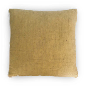 Mustard & White Contour Line Pillow 18x18in