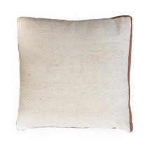 White & Himalayan Contour Line Pillow 18x18in
