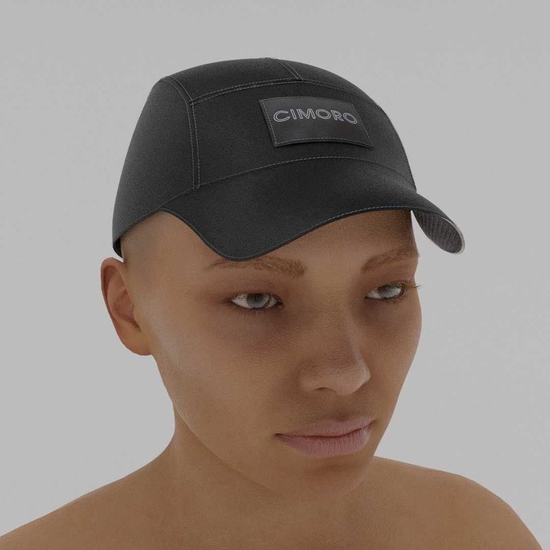LITE_ CAP - Stealth Black