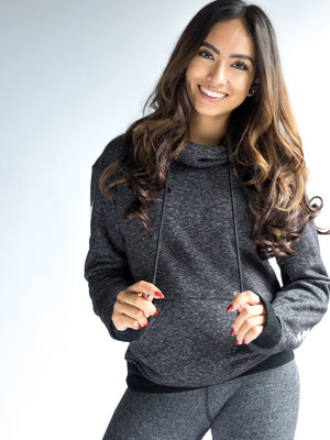 Women's Wander Hoodie - Dark Heather