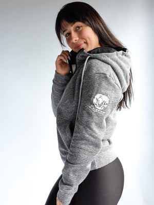 Women's Adventure Zip Hoodie - Light Heather
