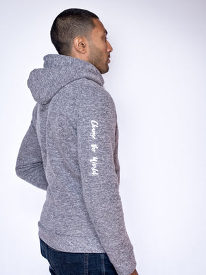 Men's Adventure Zip Hoodie - Light Heather