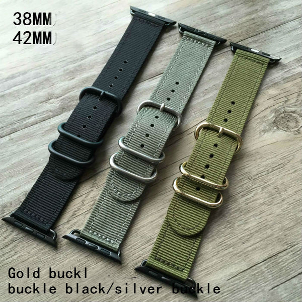 Nylon watch band, compatible with 38MM / 42MM  Apple Watch - Compatible with Apple watch bands and accessories