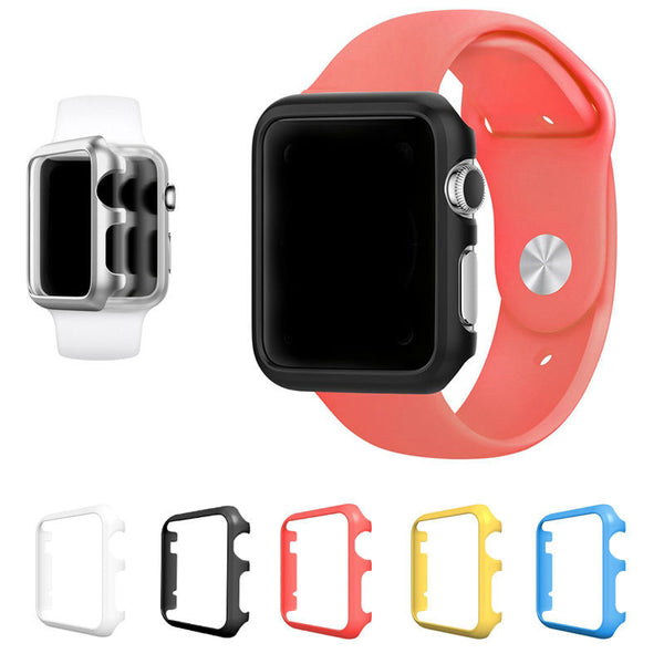 Case/protector compatible with Apple Watch - candy colors - Compatible with Apple watch bands and accessories