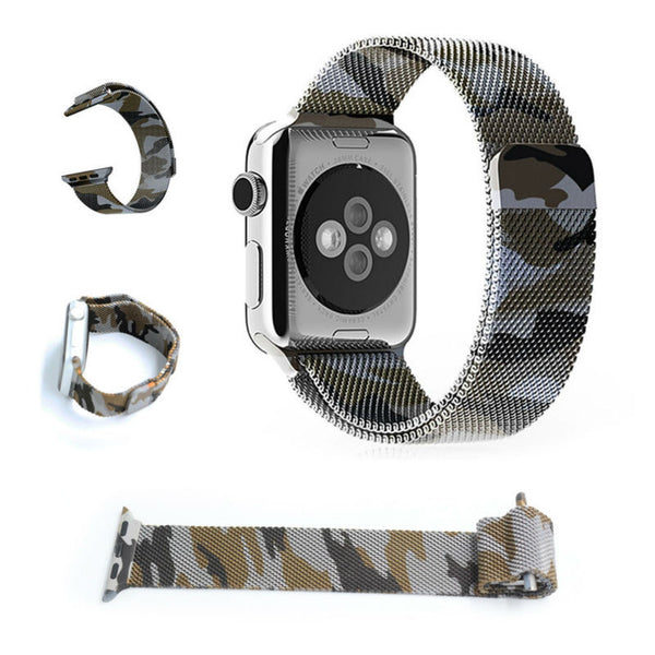 Milanese loop wrist strap with magnetic clip for Apple Watch - Apple watch bands and accessories