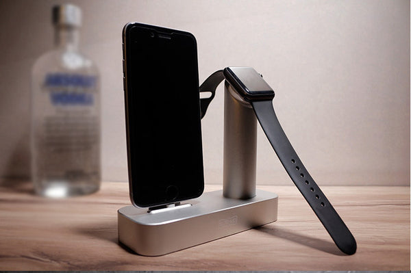 URVOI home charging dock for iphone and iwatch 2 in 1 - Apple watch bands and accessories
