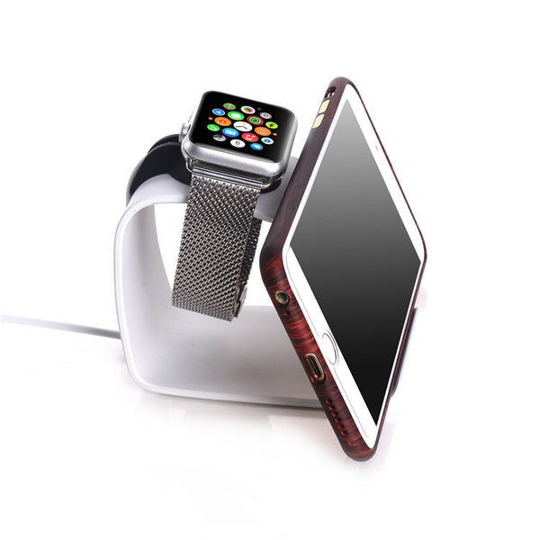 URVOI holder for Apple Watch/Stand holder keeper/Aluminium alloy charging dock 2 in 1 - Apple watch bands and accessories