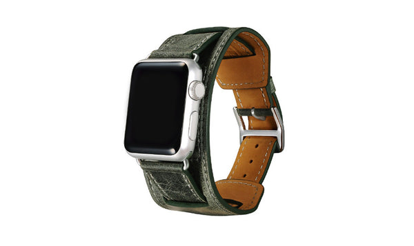High quality genuine Vintage Leather loop 3 types in 1 set for Apple Watch - Apple watch bands and accessories