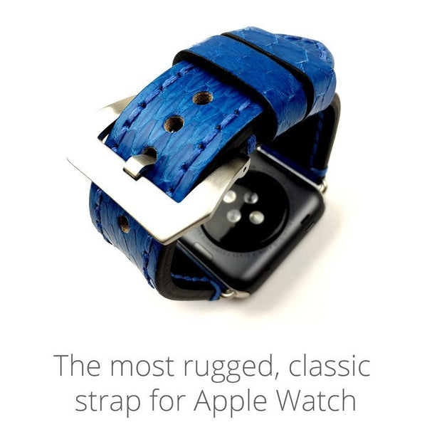 Leather band compatible with Apple Watch - Compatible with Apple watch bands and accessories