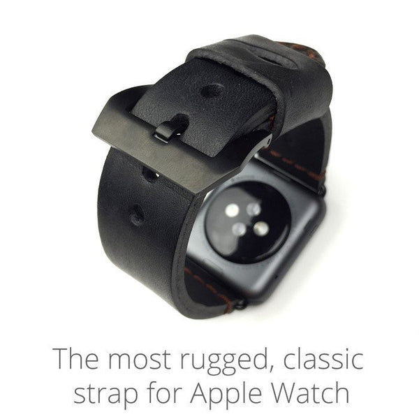 Special design leather watch strap compatible with 38MM / 42MM  Apple Watch - Compatible with Apple watch bands and accessories