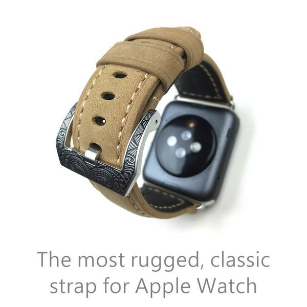 Special design leather watch strap compatible with 42MM  Apple Watch - Compatible with Apple watch bands and accessories