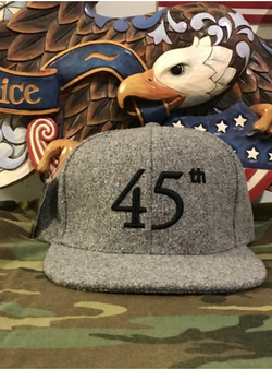 45th Hat (Grey)