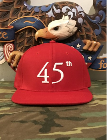 45th Hat (Red)