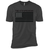The 4th American Flag T-Shirt (Limited Edition Black Print)