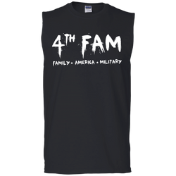 4th Fam Sleeveless T-Shirt