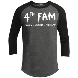 4th Fam T-Shirt ¾ Raglan sleeves