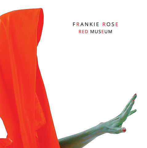 "Frankie Rose ""Red Museum"" 7"" (limited edition TRANSPARENT GREEN + OPAQUE RED HAZE)"