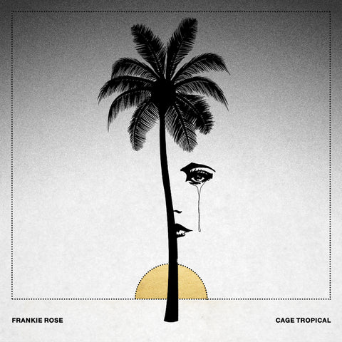 "Frankie Rose ""Cage Tropical"" LP (limited edition WHITE + GOLD SPLATTER)"