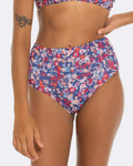 Blossom High Waisted Bikini Bottoms