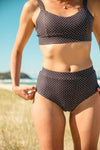Layla High Waisted Bikini Bottom