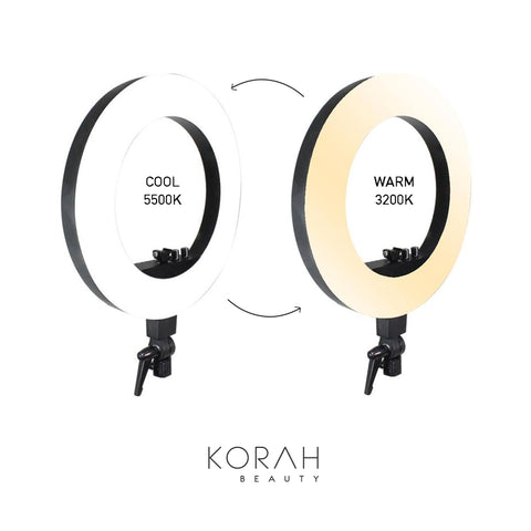 Glamour 18 Quot Professional Adjustable Ring Light Korah Beauty