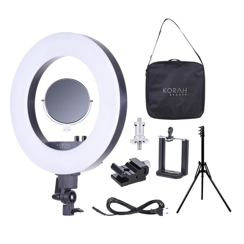 "Glamour 18"" Professional Adjustable Ring Light,  - KORAH Beauty Australia's #1 Beauty Store"