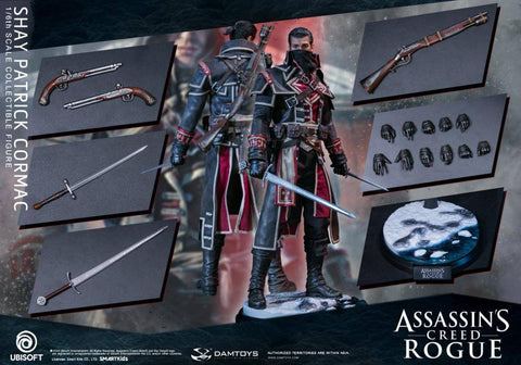 DAMTOYS: Assassin's Creed Rogue DMS011 - Shay Patrick Cormac