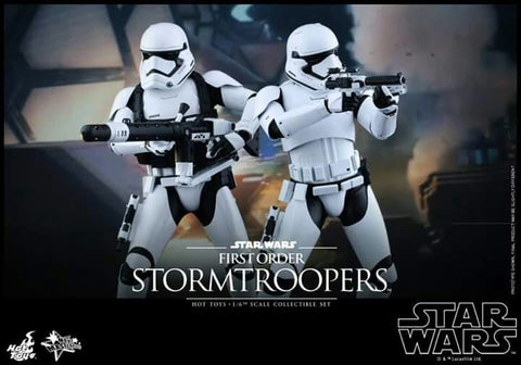 Hot Toys: Star Wars: First Order Storm Trooper Set