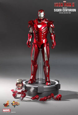 Hot Toys: Iron Man Silver Centurion