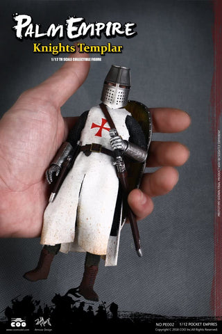 COO MODEL: Palm Empire Knights Templar 1/12th scale collectible figure NO:PE002