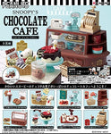 Re-Ment: Snoopy Chocolate Cafe Set
