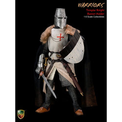 ACI TOYS: ACI24C Crusader Templar Knight Banner Holder