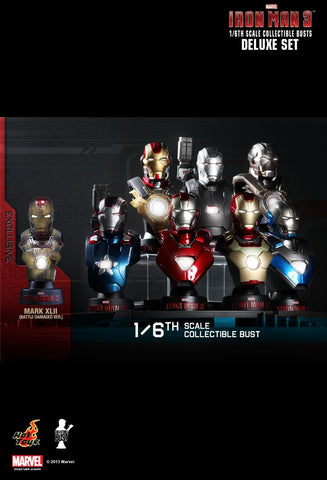 Hot Toys: Iron Man 1/6th Bust Set (Series 1)