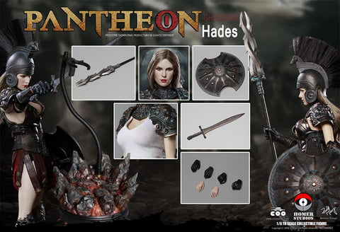 COOMODEL X HOMER HS002 DIE-CAST ALLOY 1/6 PANTHEON - HADES / GODDESS OF UNDERWORLD
