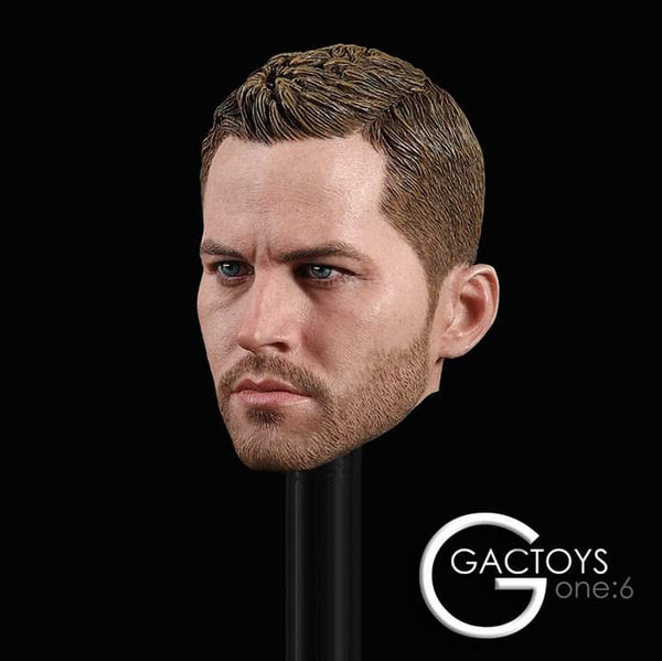 GACTOYS GC028 1/6 European and American superstar head carving