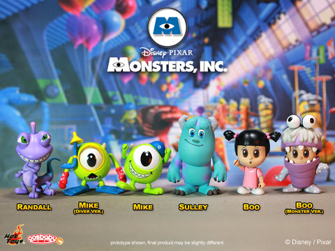 Hot Toys: Cosbaby Monsters Inc. (Set of 6)