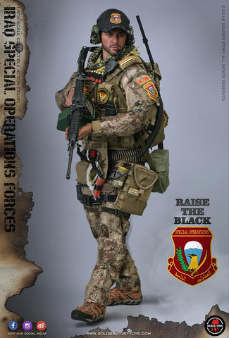 "SoldierStory SS107 1/6 Iraq Special Operations Forces ""ISOF"""