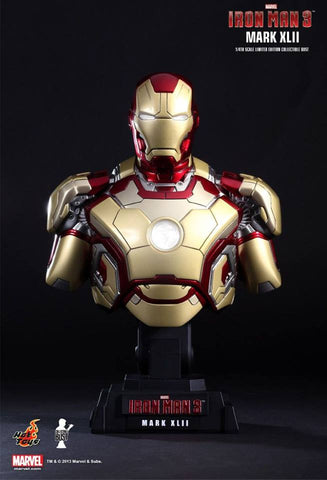 Hot toys Iron Man Mark 42 1/4th scale Bust