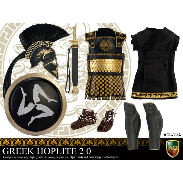 ACI TOYS: ACI772A Power Set: Greek Hoplite 2.0 - Style A