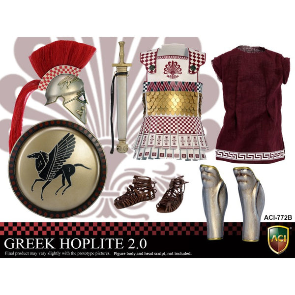 ACI TOYS: ACI772B Power Set: Greek Hoplite 2.0 - Style B