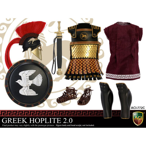 ACI TOYS: ACI772C Power Set: Greek Hoplite 2.0 - Style C