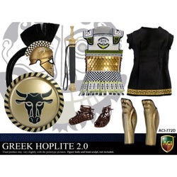 ACI TOYS: ACI772D Power Set: Greek Hoplite 2.0 - Style D