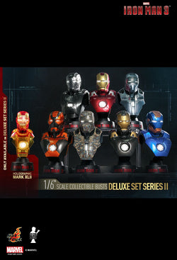 Hot Toys: Iron Man 1/6th Bust Set (Series 2)
