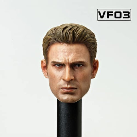VFTOYS-HEAD SCULPT OF HERO STAR -Configuration (VF03)