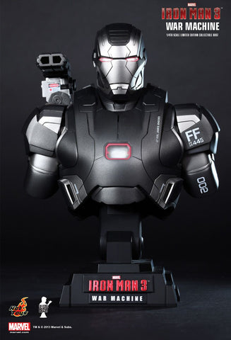 Hot Toys: Iron Man War Machine 1/4th scale bust