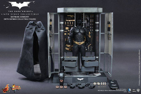 Hot toys Batman Armory set MMS234