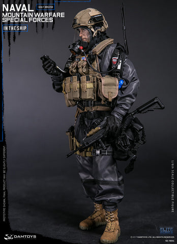DAMTOYS:  78051 1/6th Naval Mountain Warfare Special Forces - Don't Breathe in the Ship
