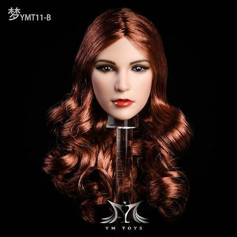 YMTOYS: YMT011 Long Red Hair (Curly)