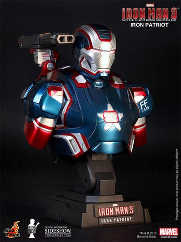 Hot Toys Iron Man: Iron Patriot 1/4 scale bust