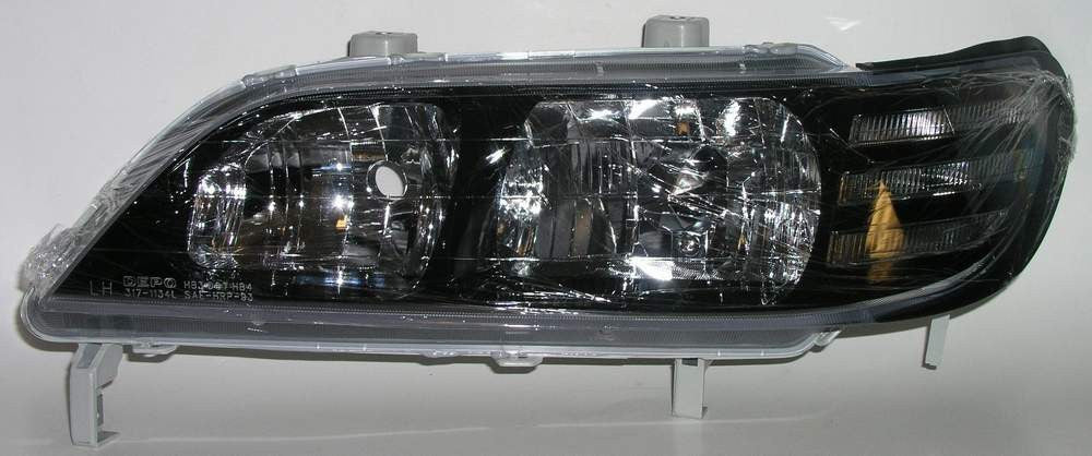 Acura CL 97-99 Headlight Black Bezel - ackauto